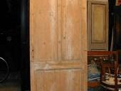 La porta prima della finitura in shabby.