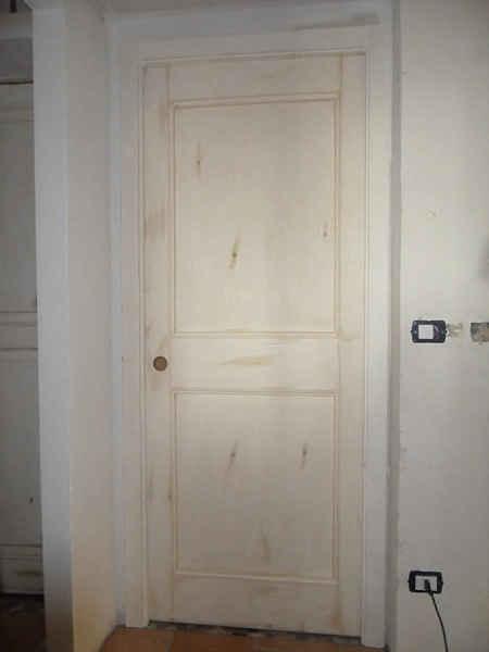 Porta in legno scorrevole in shabby chic portantica - Porte shabby chic ...