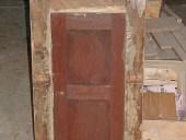 Stipo prima del restauro(lato posteriore).