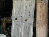 Porte shiabby; porta antica restaurata in shabby