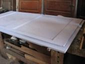 Dopo la falegnameria la laccatura in lavanda lillà