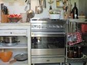 Il mobile in shabby collocato in cucina